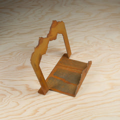 Steel Mountainous Coaster Holder - Simply Bend Souvenirs