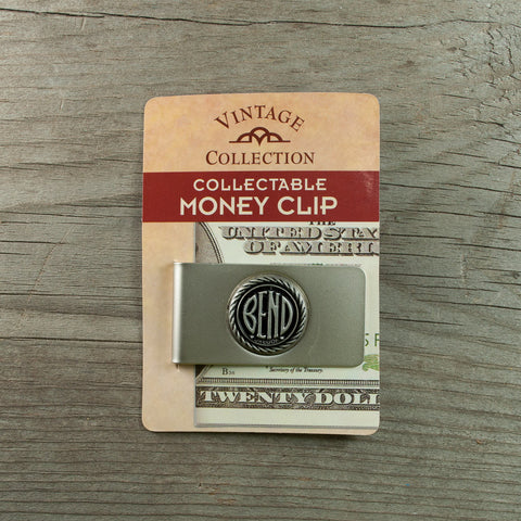 BEND Oregon Logo Money Clip - Simply Bend Souvenirs