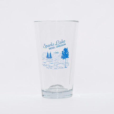 Sparks Lake Pint Glass - Simply Bend Souvenirs