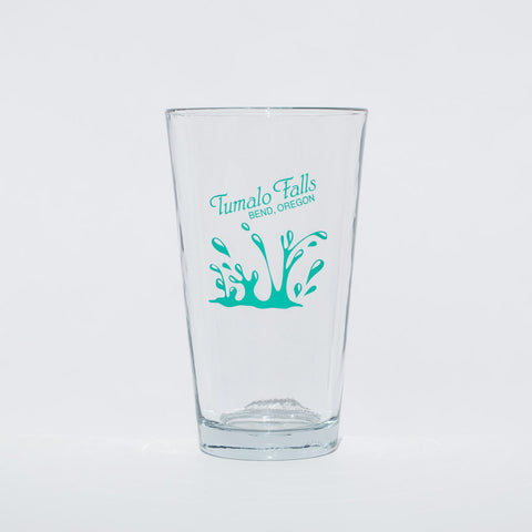 Tumalo Falls, Bend, Oregon souvenir pint glass