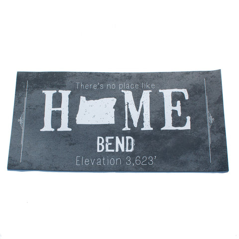Gray doormat, Bend Oregon There is No Place Like Home