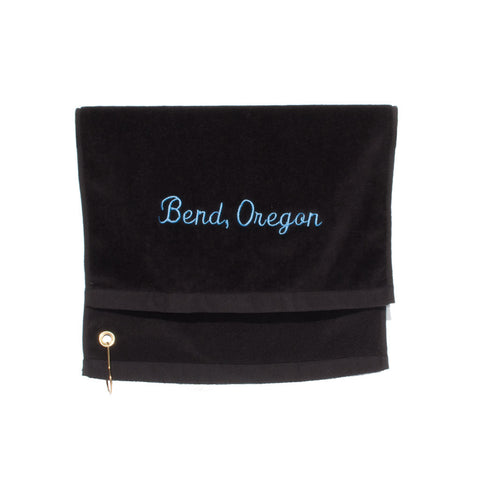 Premium Bend, Oregon Golf Towel - Simply Bend Souvenirs