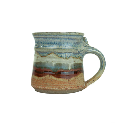 Handmade Mountain and Desert Scape Mug