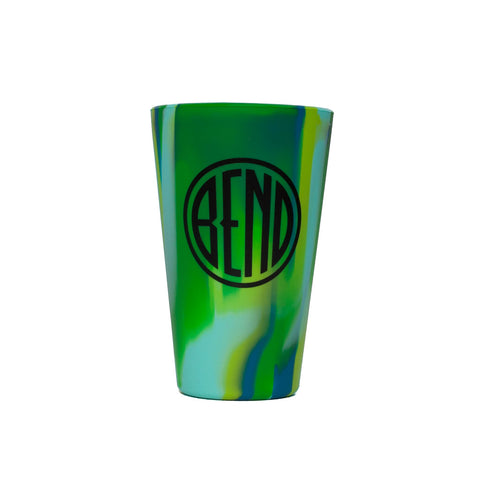 Silipint 16 Ounce Pint Cups with Bend Logo (assorted colors) - Simply Bend Souvenirs