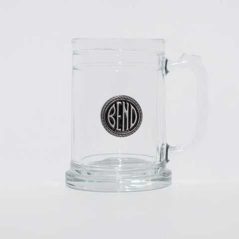 City of Bend, Oregon, logo souvenir beer mug