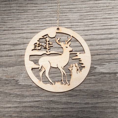 Deer Ornament - Simply Bend Souvenirs
