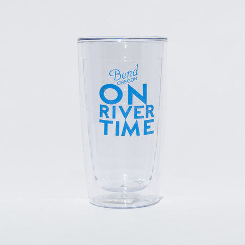 On River Time Insulated Tumbler