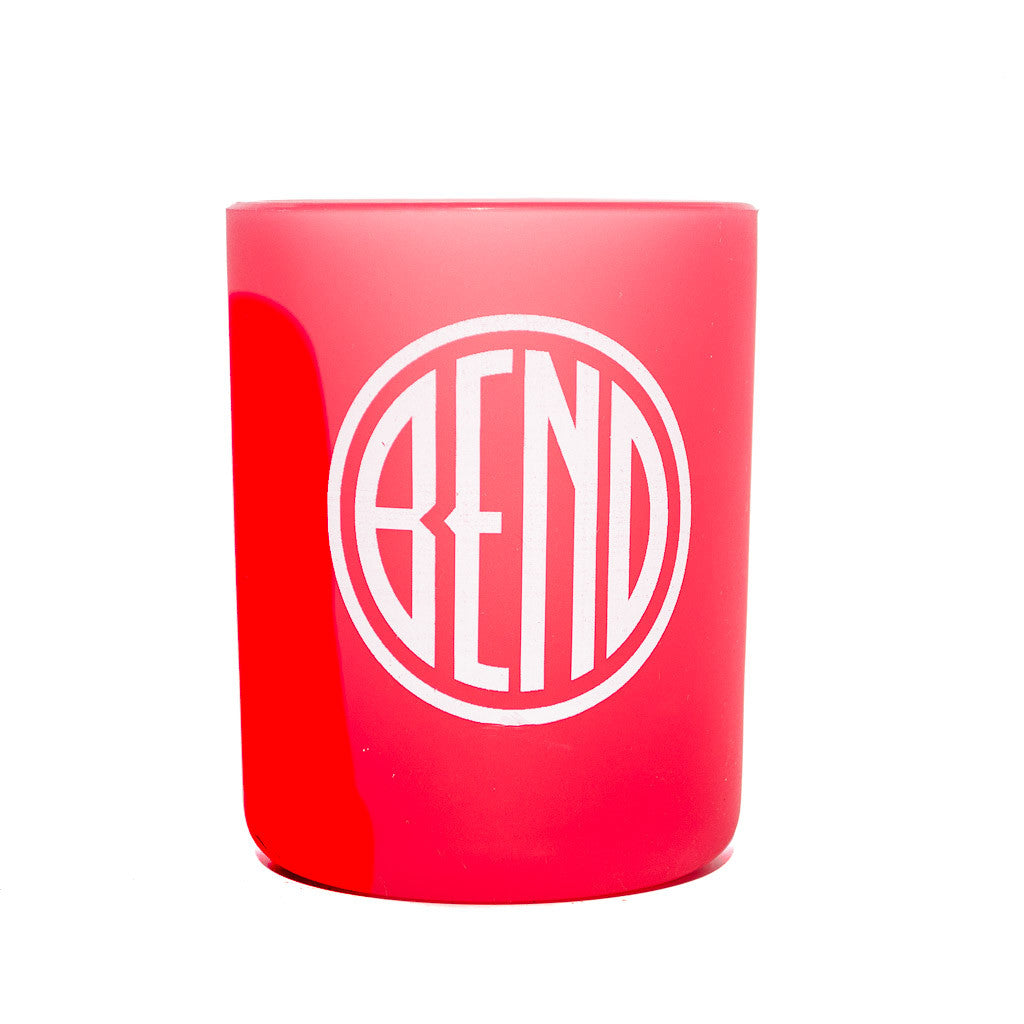 Souvenir Silipint red cup, Bend, Oregon logo