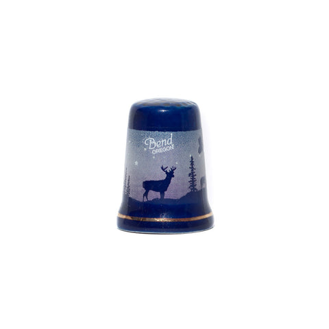 Bend Wildlife Thimble - Simply Bend Souvenirs