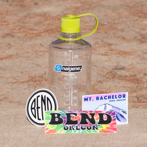 Nalgene Water Bottle Souvenir Starter Kit (includes 3 decals!) - Simply Bend Souvenirs