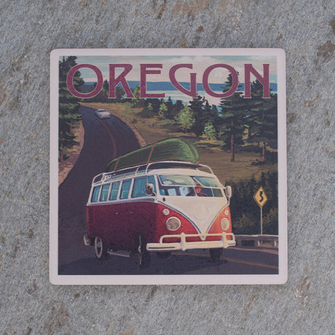 Oregon Road Trip Coaster - Simply Bend Souvenirs