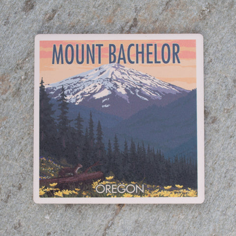 Mt. Bachelor Coaster - Simply Bend Souvenirs