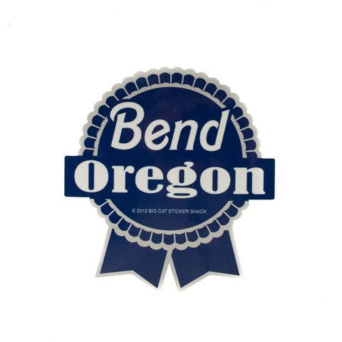 Bend Oregon Papst Beer Decal