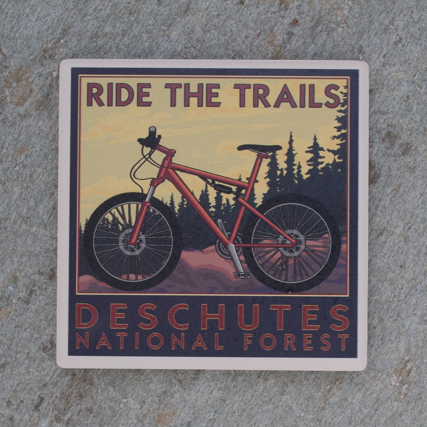 Ride the Trails, Deschutes National Forest Coaster - Simply Bend Souvenirs