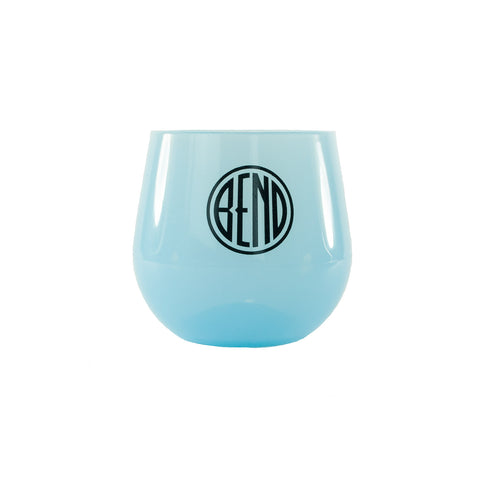 Silipint Stemless Wine Glass (assorted colors) - Simply Bend Souvenirs