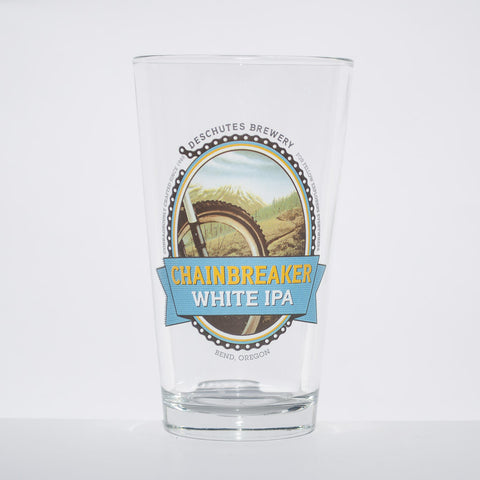 Deschutes Brewery Chainbreaker IPA Pint Glass - Simply Bend Souvenirs
