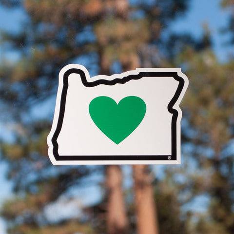 Heart in Oregon Decal - Simply Bend Souvenirs