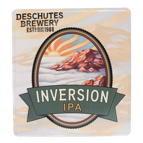 Deschutes Brewery Inversion IPA Tack Sign - Simply Bend Souvenirs