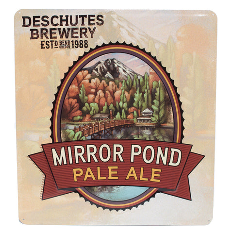 Deschutes Brewery Mirror Pond Tack Sign