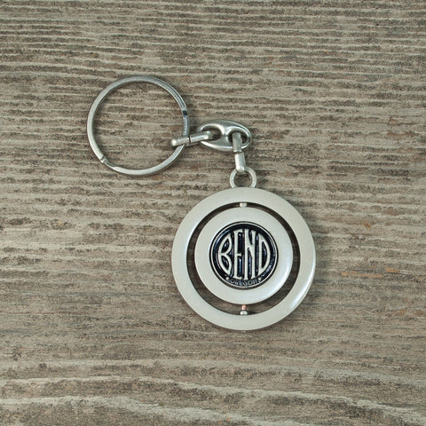 Spinner Bend Keychain - Simply Bend Souvenirs