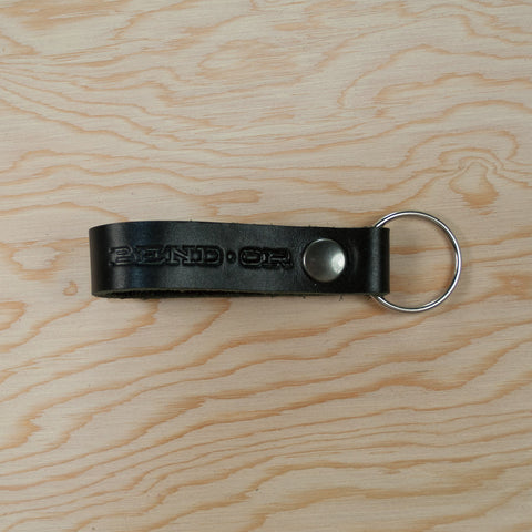"Handmade ""BEND, OR"" Leather Keychains - Simply Bend Souvenirs"