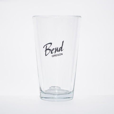 Bend, Oregon Pint Glass - Simply Bend Souvenirs