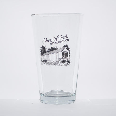 Shevlin Park Pint Glass - Simply Bend Souvenirs