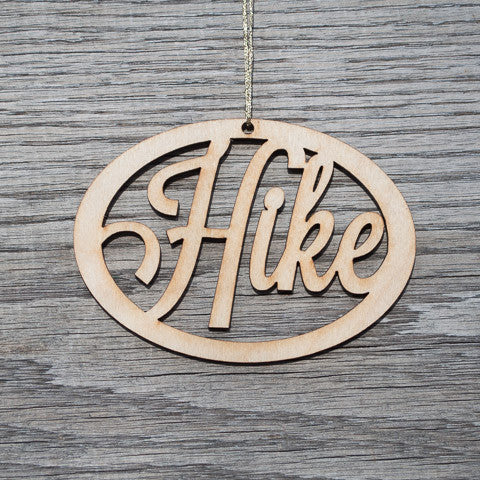 Hike Ornament - Simply Bend Souvenirs