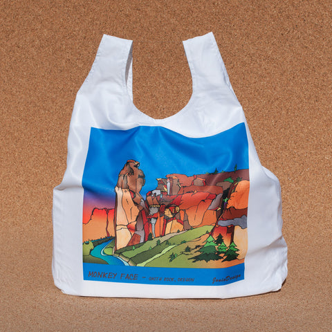 Smith Rock, Monkey Face Shopping Bag - Simply Bend Souvenirs