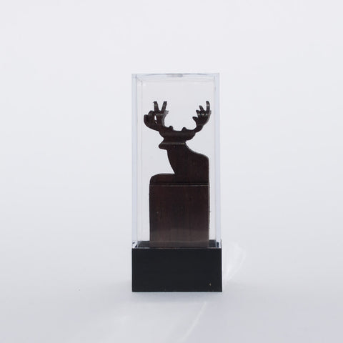 Deer & Hunter Sculpture - Simply Bend Souvenirs