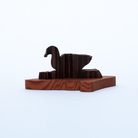 Duck & Trees Sculpture - Simply Bend Souvenirs