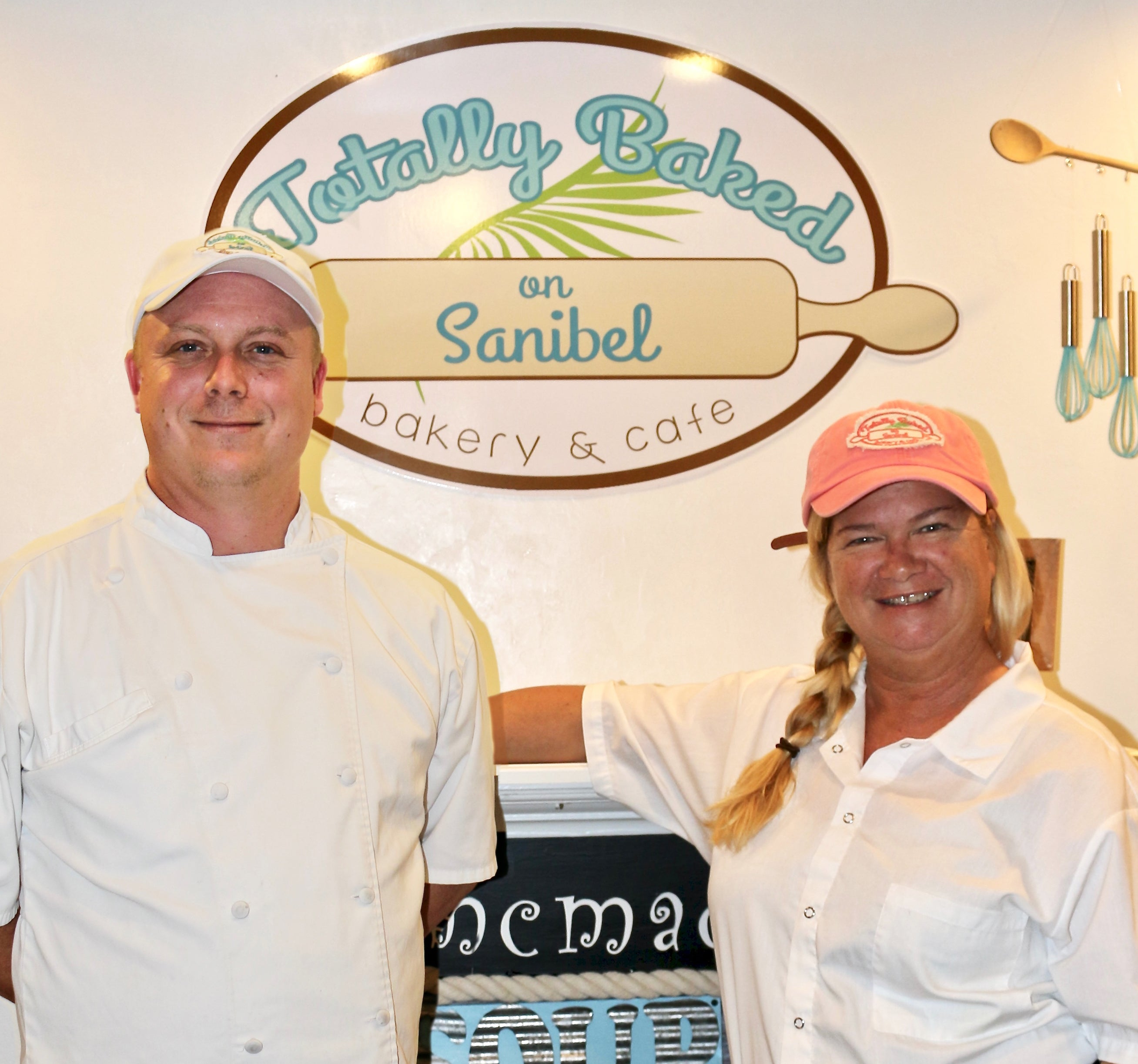 Sanibel Bakery Owner Ginny Wagner & Manager Adam Walling