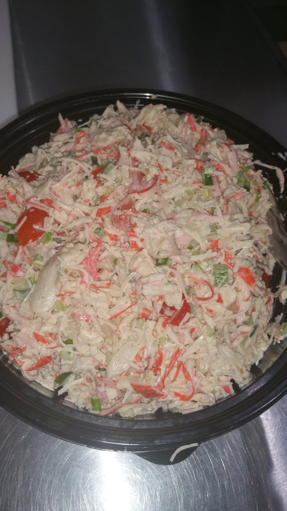 Crab salad large