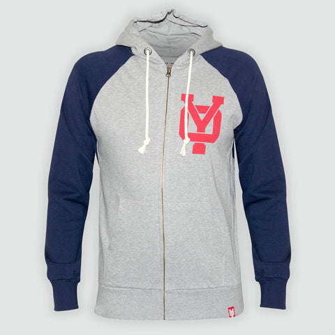 YO 'CHIEFTAN'  Zip-Up Hoodie YO Sweat Jacket