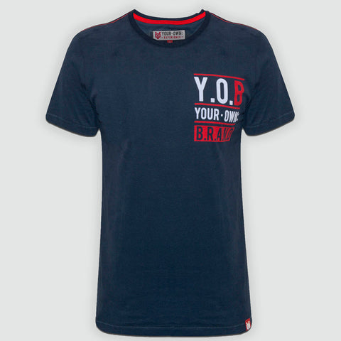 YO Trans Short Sleeve YO T-Shirt with Crew Neck