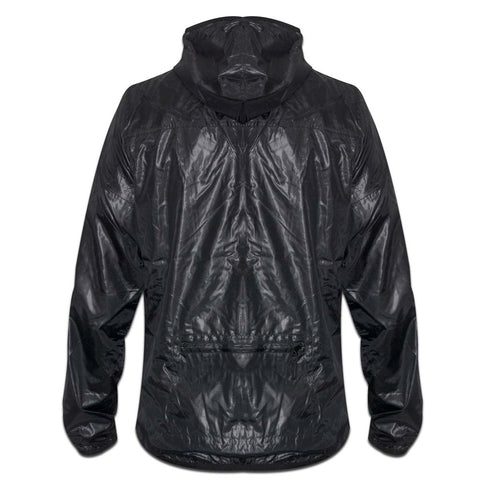 YO Woolfe Lightweight Zip-Up YO Coat Jacket. Black