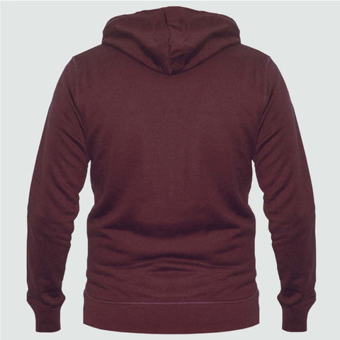 YO 'WRANGELL' Zip Through YO Hoody Burgundy
