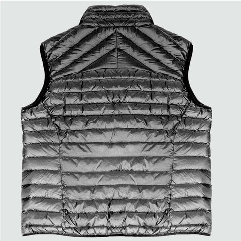 YO 'SOUTH' Down Gilet Black