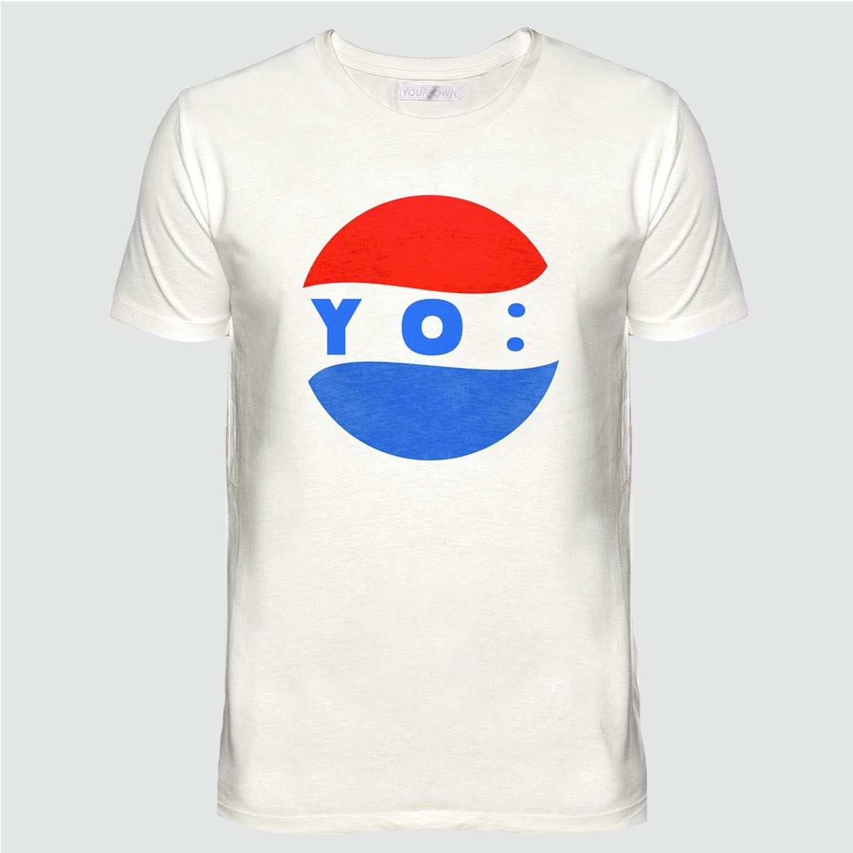 YO 'VIDAL' T SHIRT CREAM