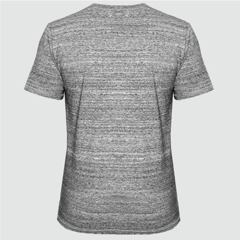 YO 'SAN AN' T SHIRT GREY MARL