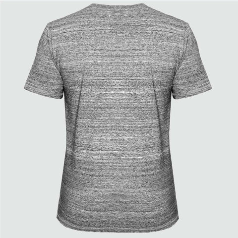YO 'KETCHIKAN' T shirt Grey Marl