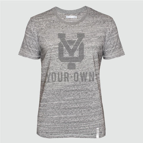 YO 'ESCANDELL GREY' T SHIRT GREY MARL