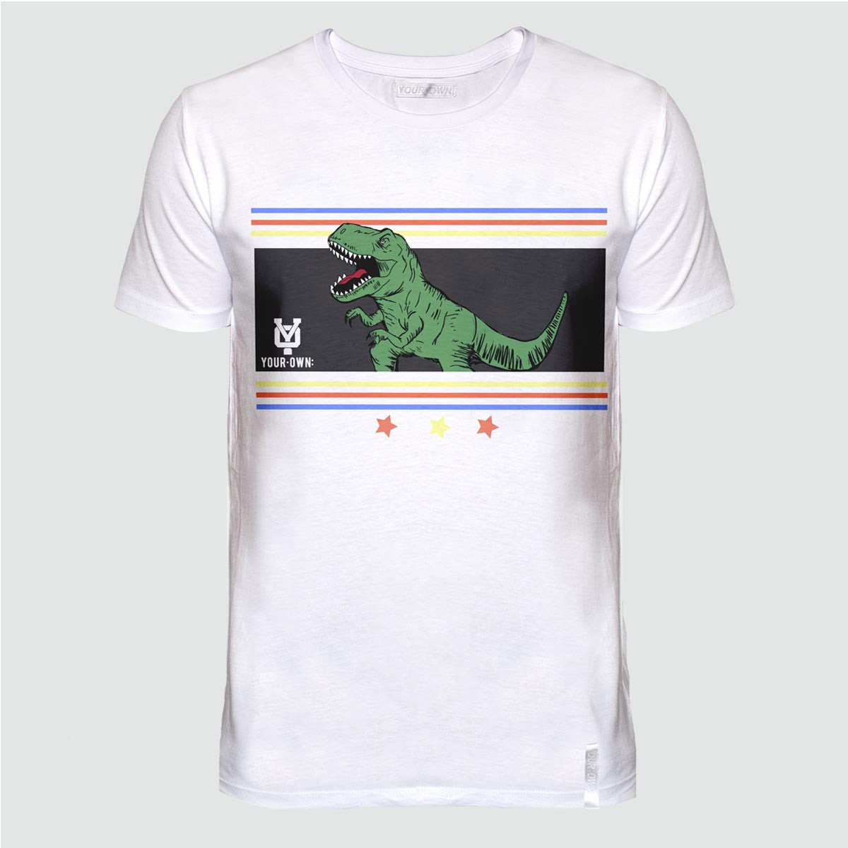 YO 'OLIVERES' T SHIRT WHITE