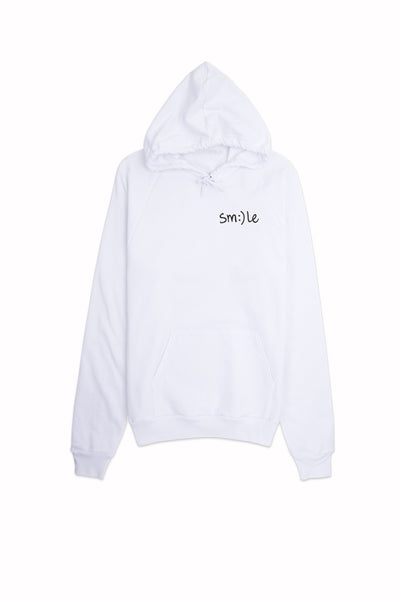 Smile Hoodie (Small Text)