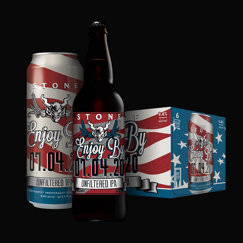 Stone Enjoy By DIPA 7/4/20 19.2oz Single Can