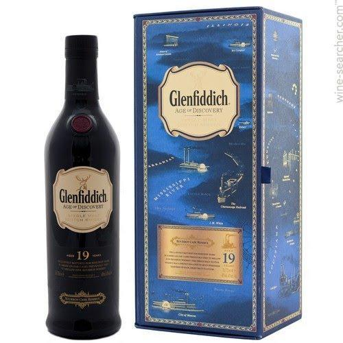 Glenfiddich 19 Age of Discovery Single Malt Scotch Whisky 750ml