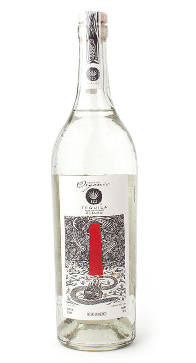 123 Organic Tequila Silver 750 ml