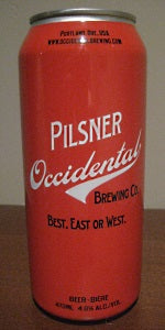 Occidental Pilsner 4pk 16oz cans