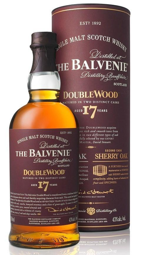 Balvenie Doublewood 17 Years Single Malt Scotch 750ml