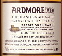 Ardmore Traditional Cask 750 ml